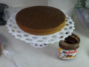 Nutella filling