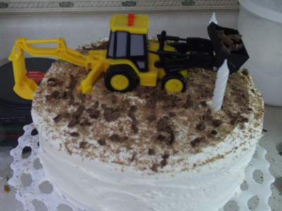 Finished Tractor Cake
