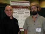 Chef Shane Henderson and foodie locavore Jody Hardin.