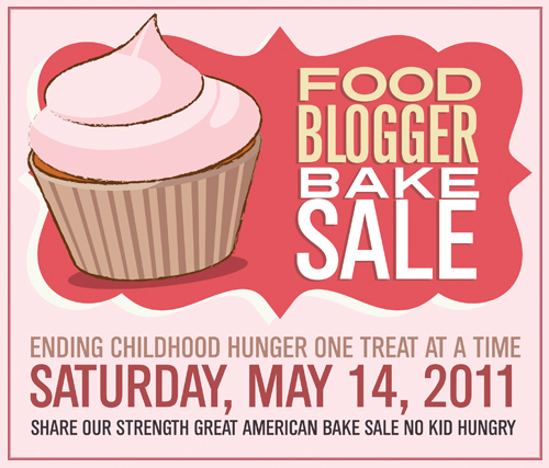 Food Blogger Bake Sale For Share Our Strength May 14