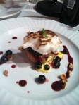 A lemon berry scone dessert created by Team Knapp