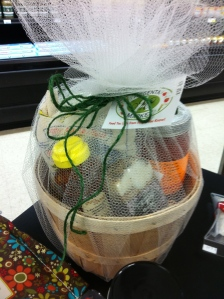 Sample gift basket of genuine Arkansas-made foods from Argenta Market.