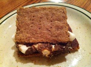 S'mores made from my very own GF graham crackers!