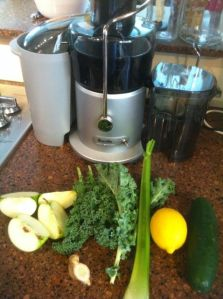 I really like my refurb Breville Juice Fountain.