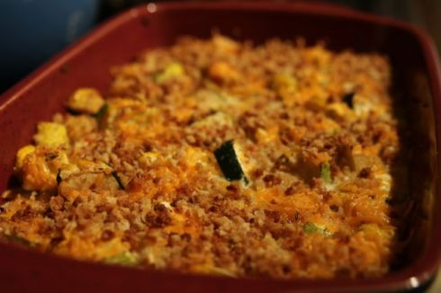 Amazing squash casserole. It'll make you a believer.